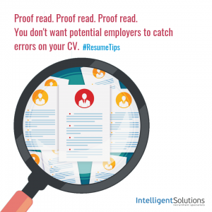 Top Resume Dos And DONTS Intelligent Solutions